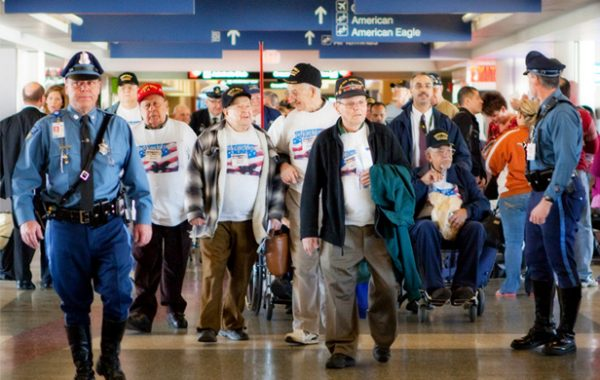 "P+K joins HBO, American Airlines & Marriott Hotels in documenting the World War II veterans ""Honor flight"""