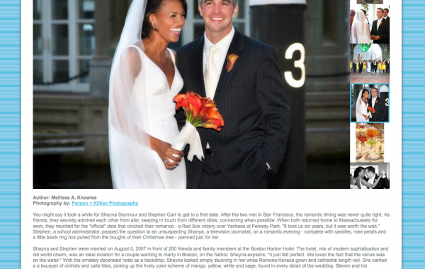 Boston Harbor Hotel Wedding Featured on Beantown Bride