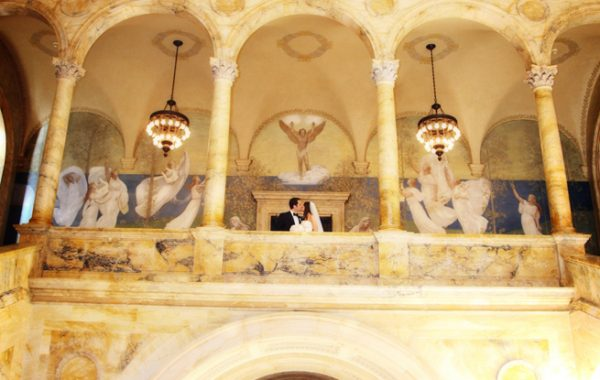 The Boston Public Library | Boston Real Weddings