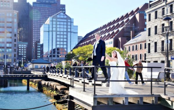 Ashley + Scott's Fall Wedding | Langham Boston and State Room Boston