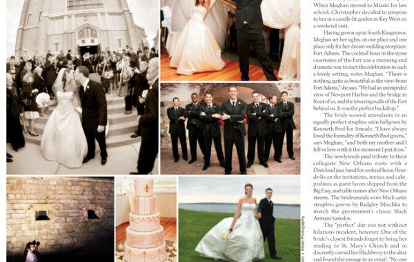 Newport Weddings | Real Wedding Feature of Meghan and Chris