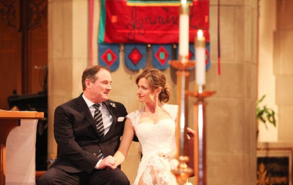 A Winter Wedding | St Ignatius Church Chestnut Hill | Winston Flowers & Garden Newton MA