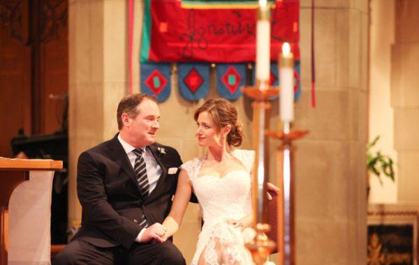 A Winter Wedding | St Ignatius Church Chestnut Hill | Winston Flowers & Garden Newton MA