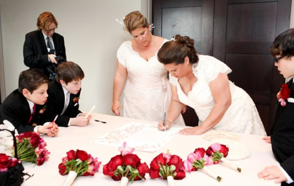Lisa and Beth Say I do! Liberty Hotel Boston Wedding Photography