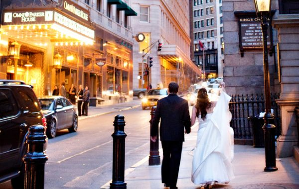 The Boston Wedding of Elissa + Christopher | Omni Parker House