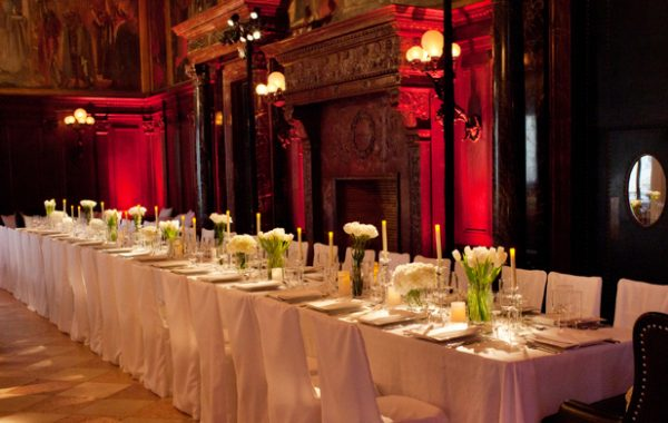 Boston Public Library | The Catered Affair | Abbey Room Corporate Event