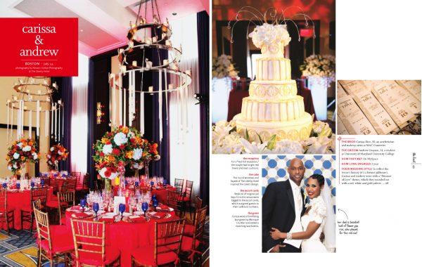 Boston Real Wedding | The knot Boston | Liberty Hotel