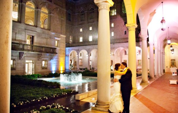 Boston Public Library Wedding Ceremony and Reception