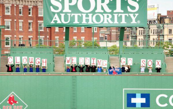 Boston Red Sox - Fenway Park Wedding of Sarah + Rob