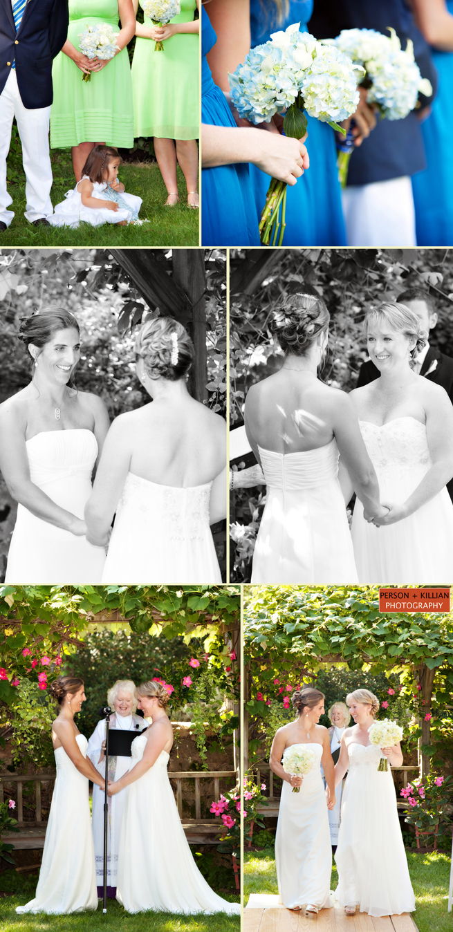 Outdoor Ceremony Wedding Photography