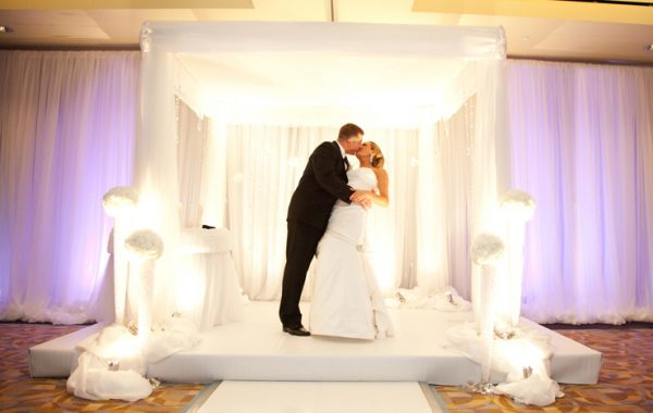 Ritz Carlton Boston Wedding Modern White with Miami-chic style inspiration!
