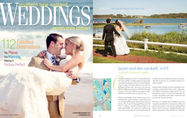 Southern New England Wedding Destination Edition |  Cape Cod Real Wedding Feature
