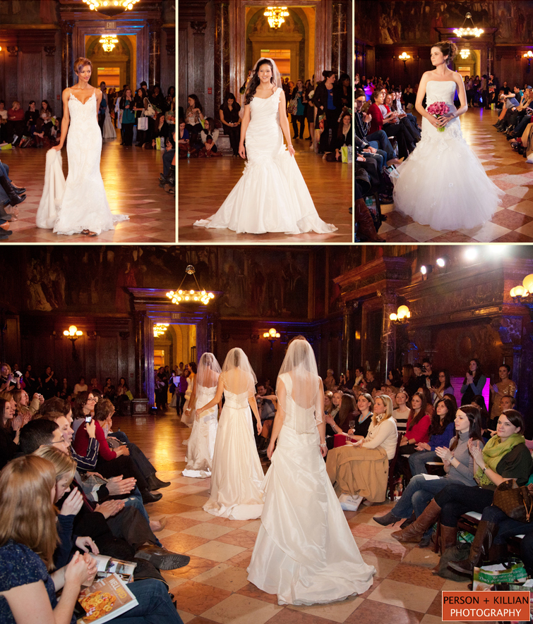 Boston Public Library Wedding: Fashion Show