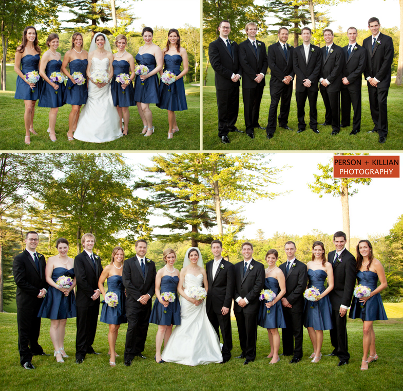 Country Wedding Ideas For Summer: Wedding At The Ipswich Country Club