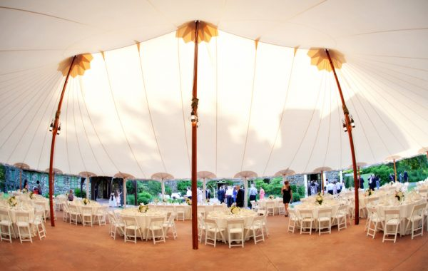Summer Tented Wedding at the Willowdale Estate | Denisa and Mike