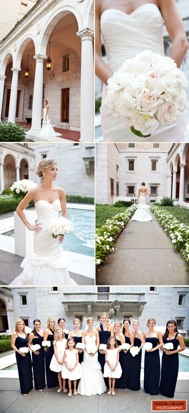 Boston Public Library Wedding | Taj Boston Rooftop Rehearsal