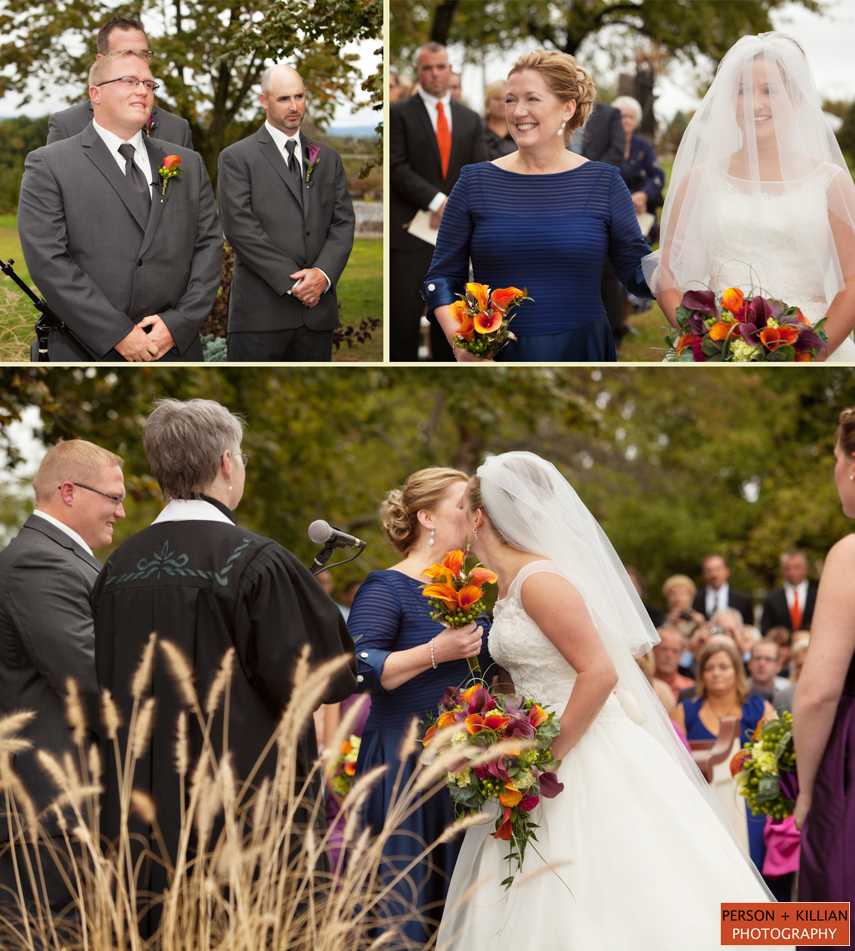 Outdoor Wedding Ceremony Des Moines: Rustic Country Wedding At The Apple Hill Farm And Country Club