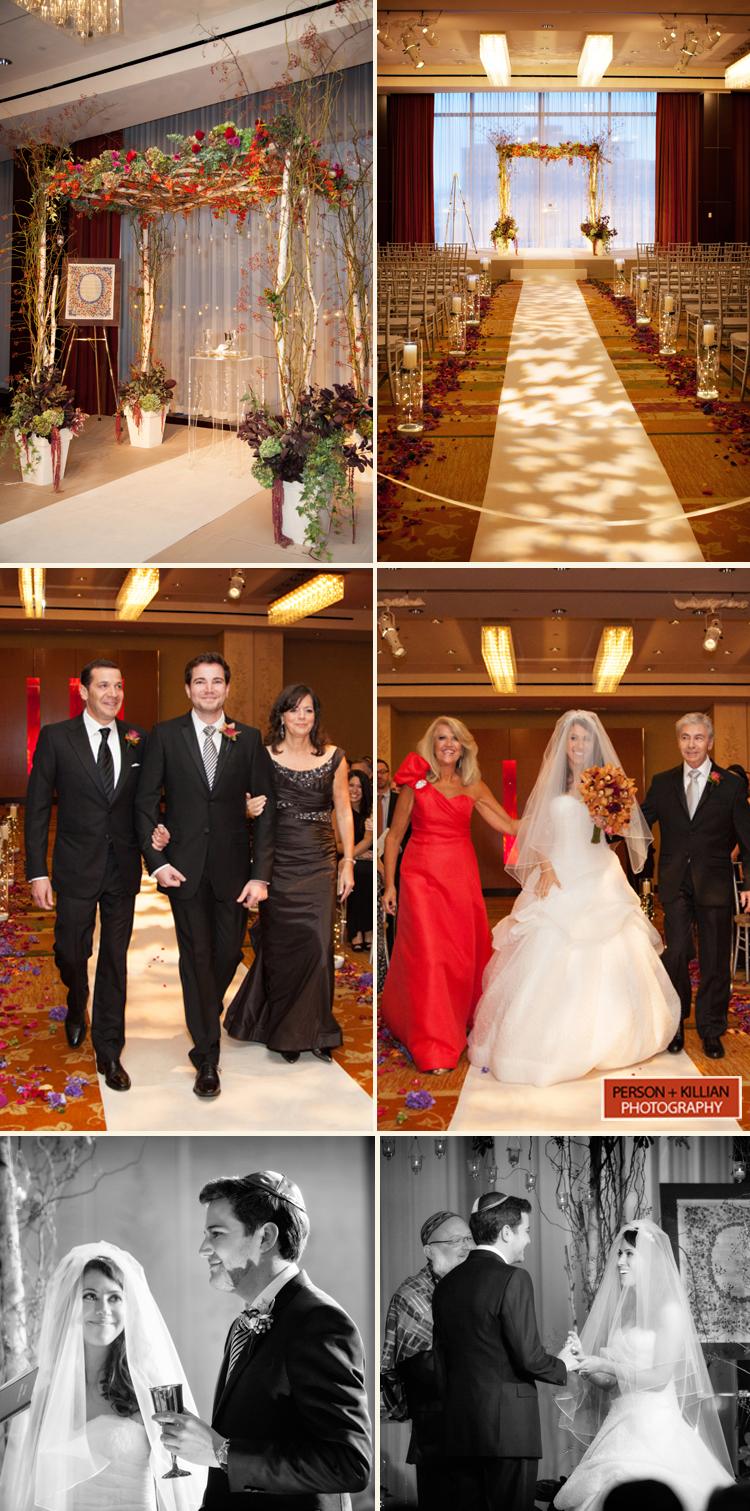 Intercontinental Hotel Boston Fall Wedding By Person