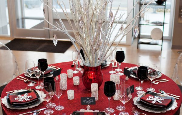 Winter Wedding Decor at Peterson Party Center