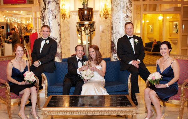 Winter Wedding at the Fairmont Copley Plaza | Kate + Joe
