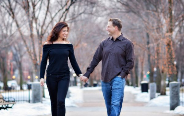 Winter Engagement Sessions | Boston Engagement Photography