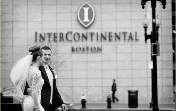 Spring Wedding at the InterContinental Hotel Boston