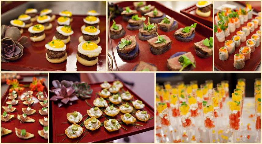 Hors D Oeuvres Only Wedding Reception - Unique Wedding Ideas