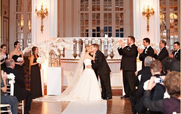 A Classic Fairmont Copley Plaza Wedding with Winston Flowers