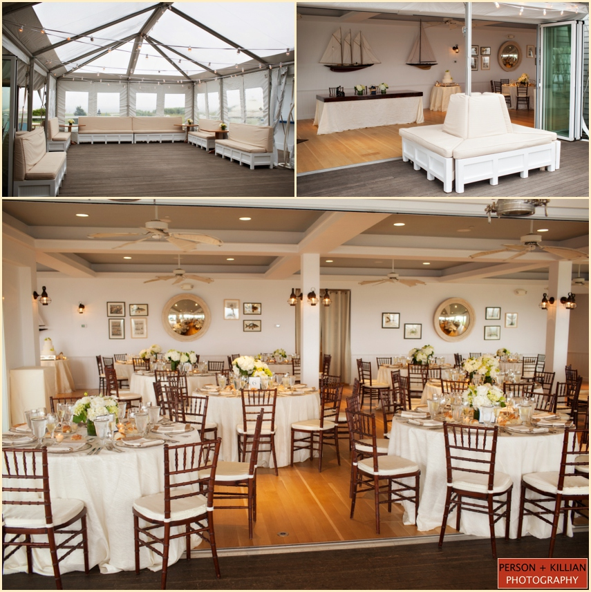 elegant beach wedding at the chatham bars inn person. Black Bedroom Furniture Sets. Home Design Ideas