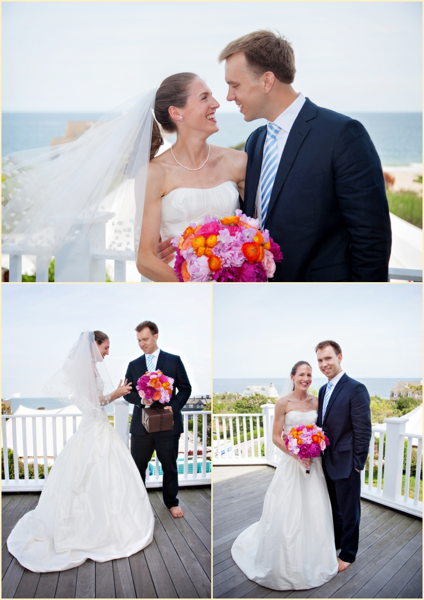 Bridal Gowns Ri : Seaside wedding in watch hill rhode island with the