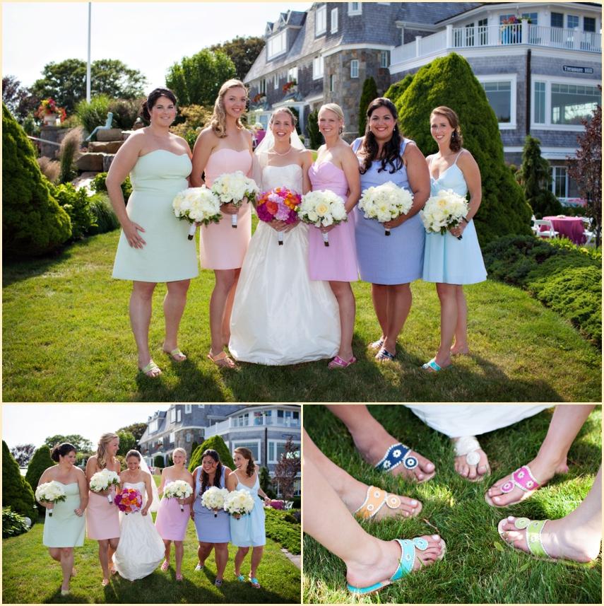Wedding Gowns Ri: Seaside Wedding In Watch Hill Rhode Island With The