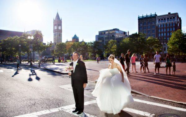 Fairmont Copley Plaza - Boston Wedding of Christina + Sean
