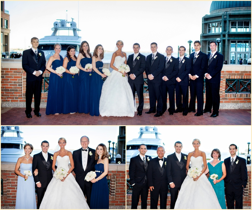 Boston Harbor Hotel Summer Wedding of Kate and Joe  by Person + Killian Photography 17
