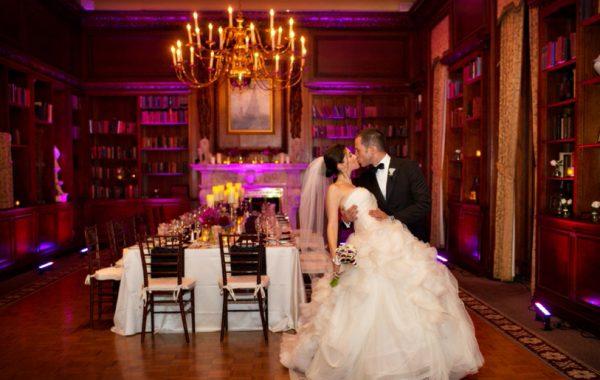 Intimate Autumn Wedding at the Hampshire House Boston | Gul + Ali