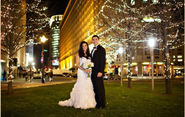 A Traditional White Wedding at the Four Seasons Hotel Boston