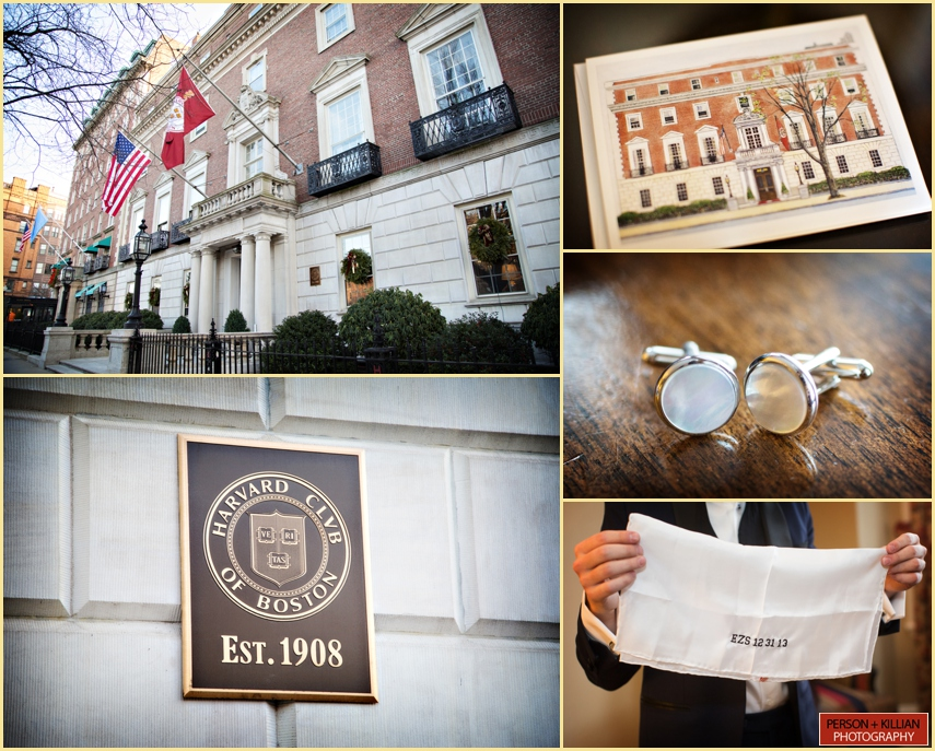 the Harvard Club of Boston