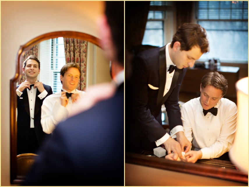 Boston Grooms Getting Ready Photography