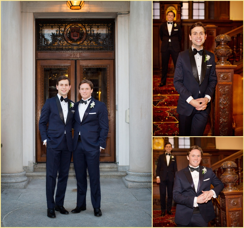 Boston Formal WEdding Photography Harvard Club of Boston