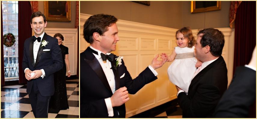 Harvard Club Candid Wedding Photography Boston
