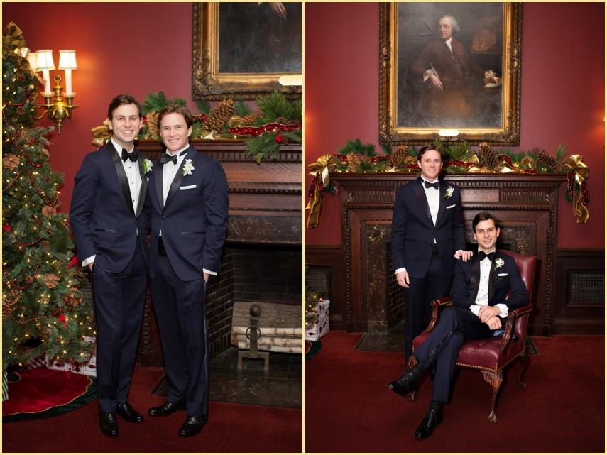 Classic Wedding Photography Harvard Club of Boston