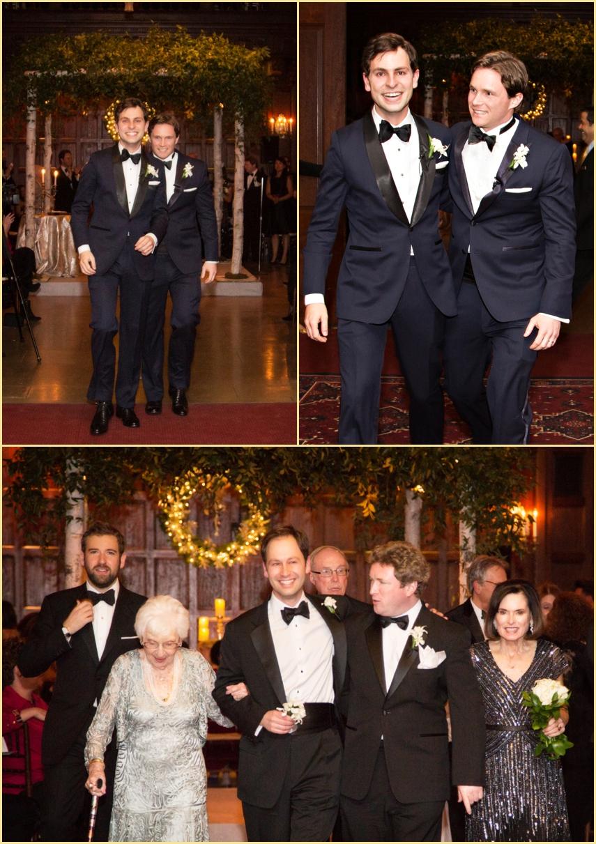 Harvard Hall Wedding Ceremony Candid Photography Boston