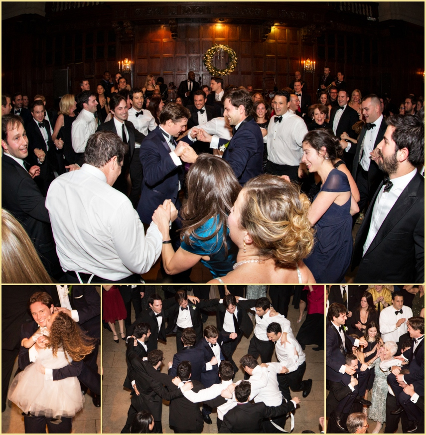 Jewish Wedding Hora Harvard Club of Boston