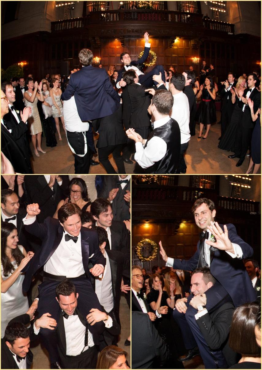 Harvard Club of Boston Jewish Wedding Hora