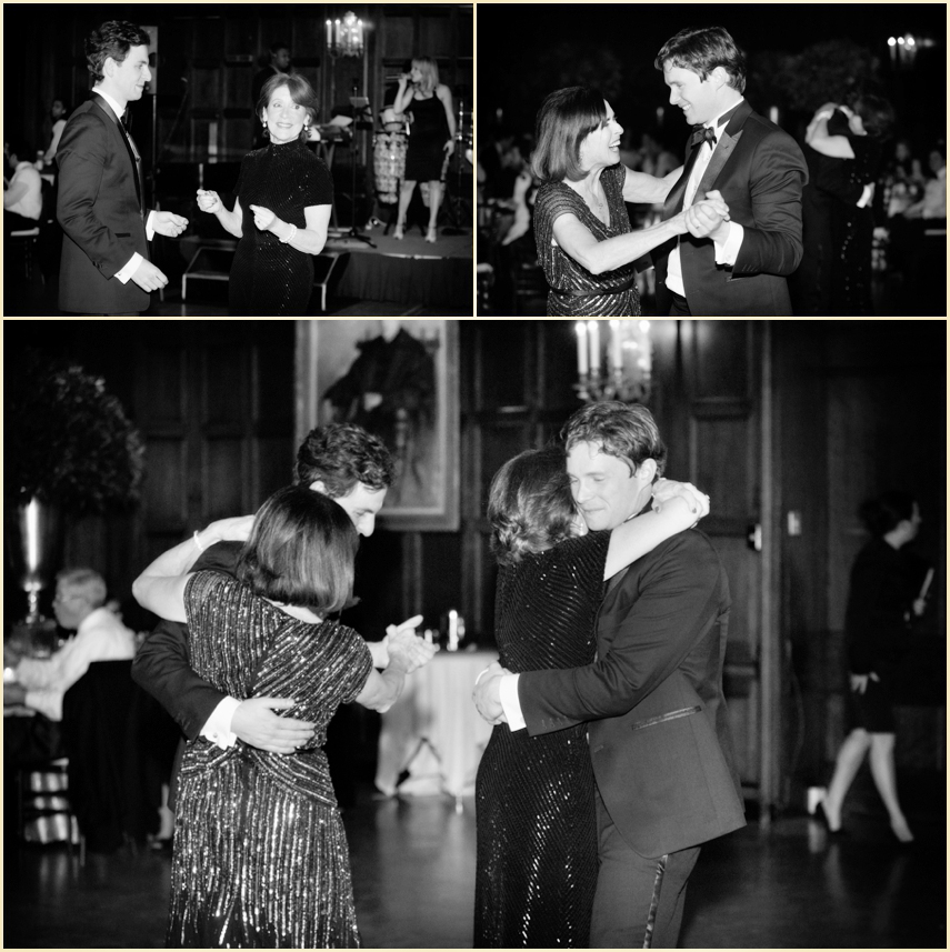Harvard Club Winter Wedding Parent Dances