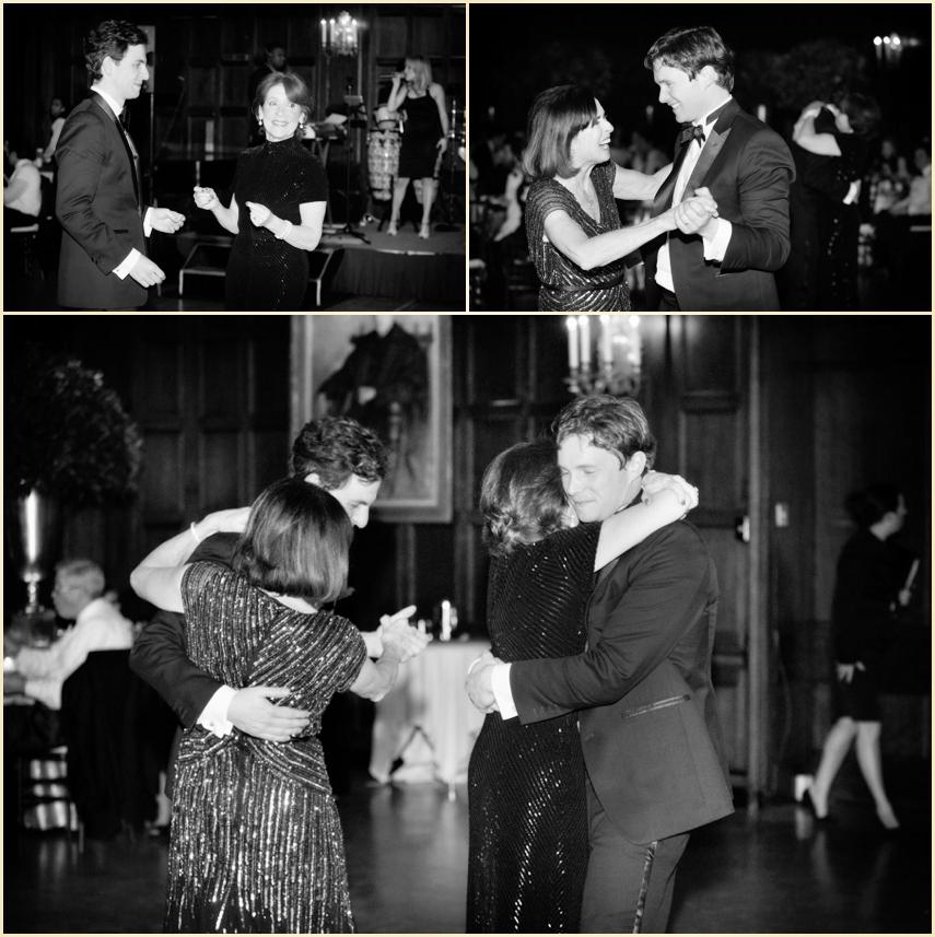 Harvard Club Winter Wedding Parent Dances