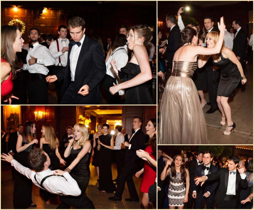 Harvard Club of Boston Wedding Reception with Nightshift Entertainment