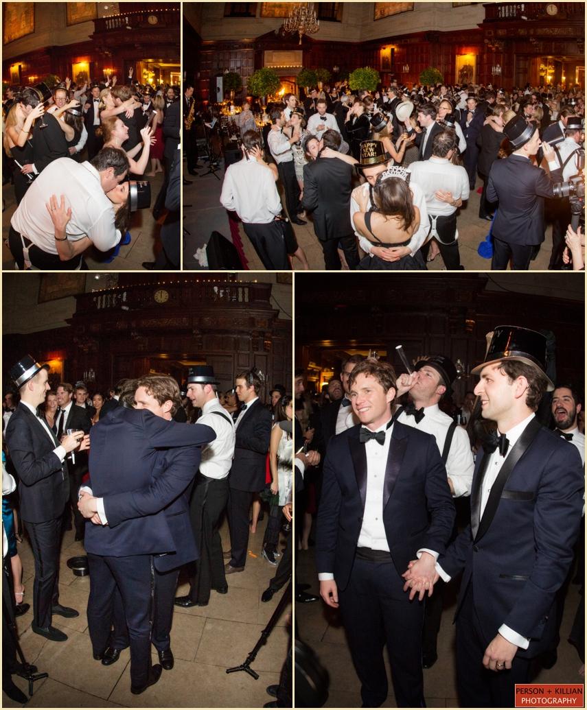 New Years Eve Wedding Harvard Club Boston