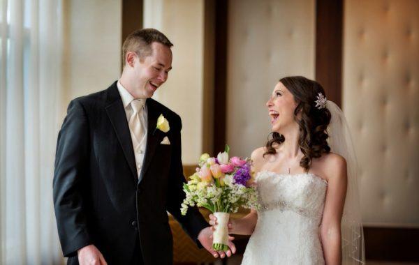 Ritz-Carlton Boston Common Spring Wedding of Jenn and Kevin