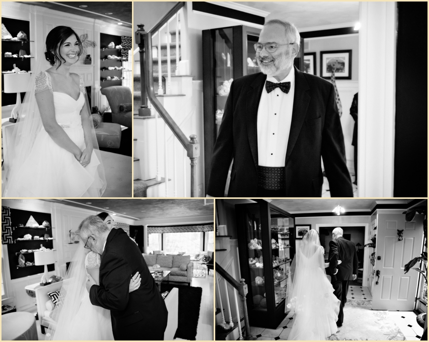 Father of the Bride First Look by Person + Killian Photography