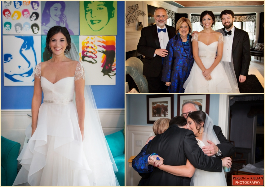 Family Wedding Portraits by Boston Photographers Person + Killian Photography